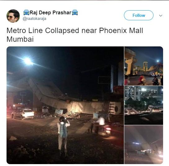 Fact Check A Picture Of A Flyover Collapse In Gurgaon Falsely Shared To Be From Other Cities