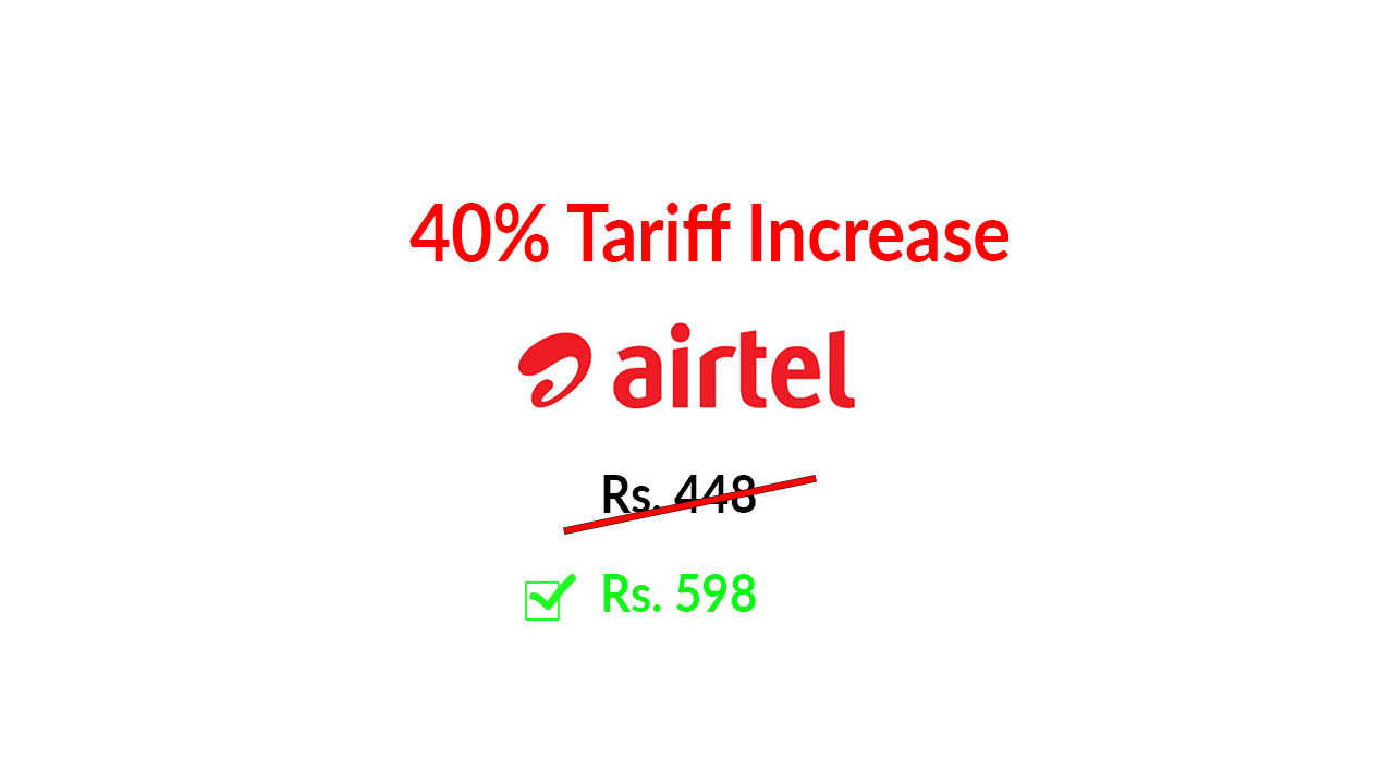 Airtel-Incerases-Prepaid-Recharge-offer-Prices