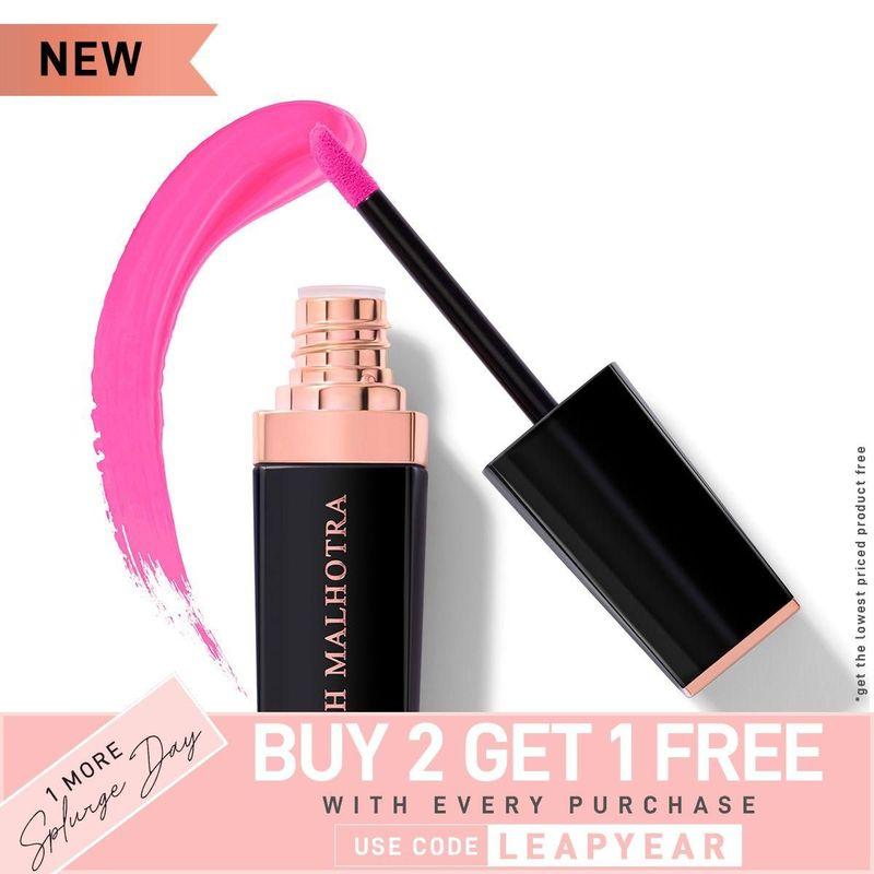 Manish Malhotra Liquid Matte Lipstick - Crazier Than Pink
