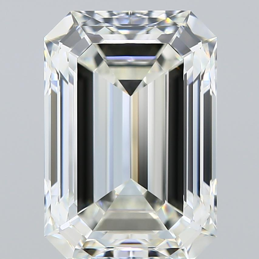 3.04-Carat Natural Ideally Cut Emerald Diamond