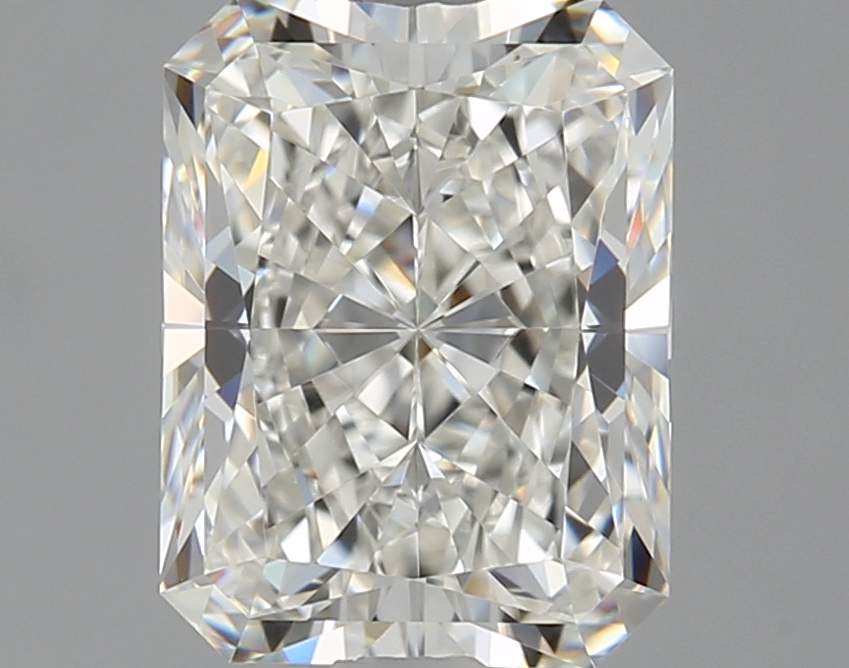 1.50-Carat Natural Ideally Cut Radiant Diamond