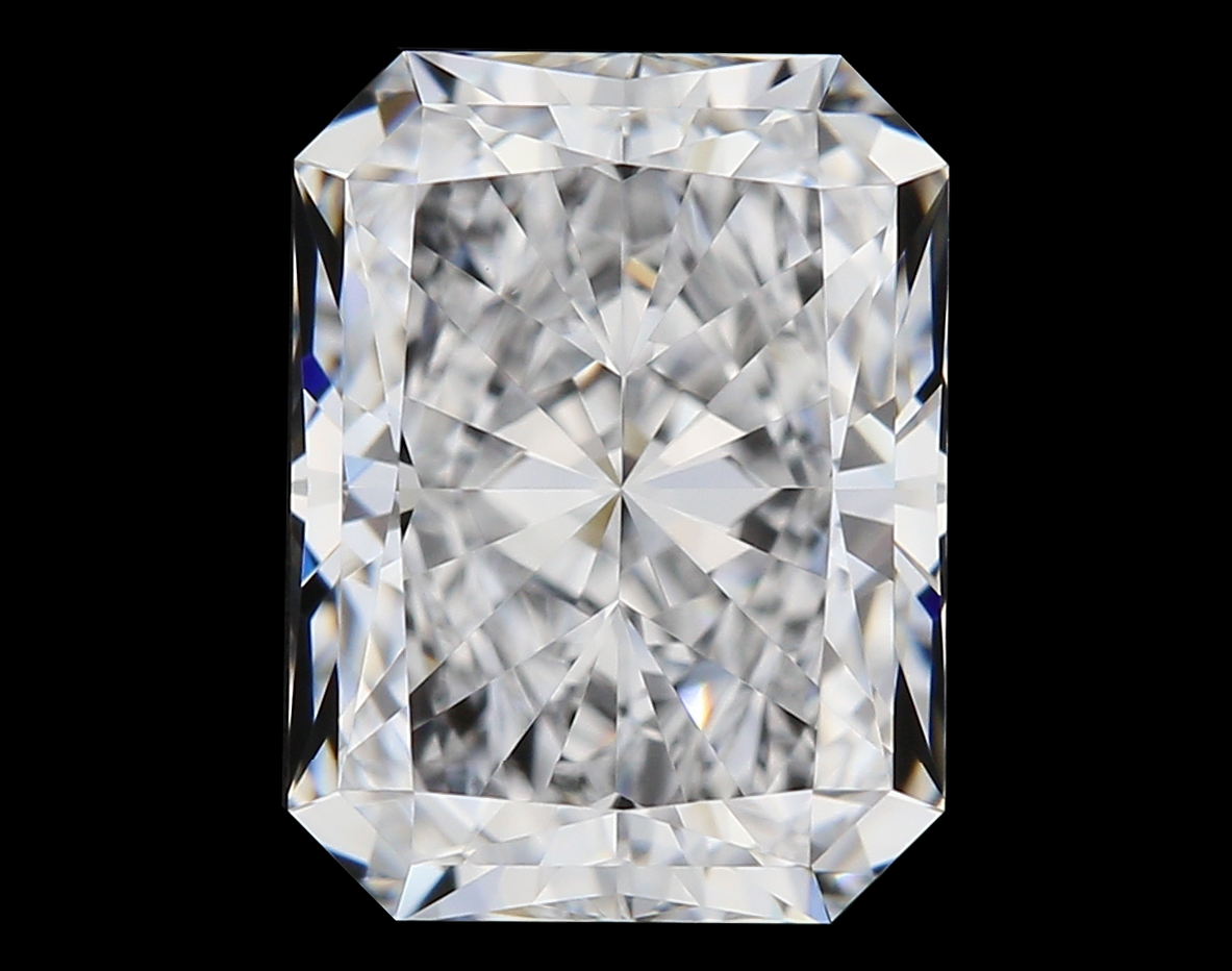 0.91-Carat Natural Ideally Cut Radiant Diamond
