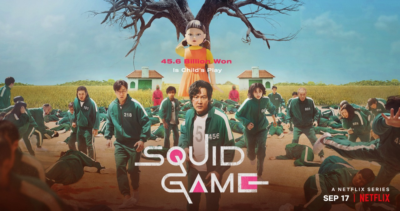Squide Game :- The most happening seat edge thriller streaming on Netflix...