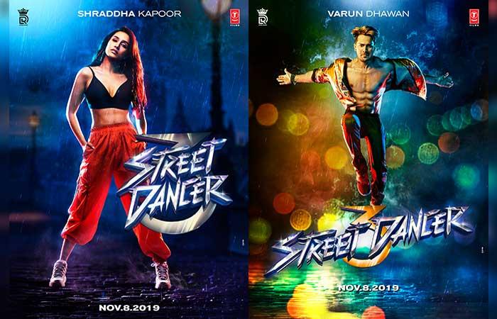 वरुण धवन और श्रद्धा कपूर की डांस फिल्म का नाम होगा 'स्ट्रीट डांसर'
