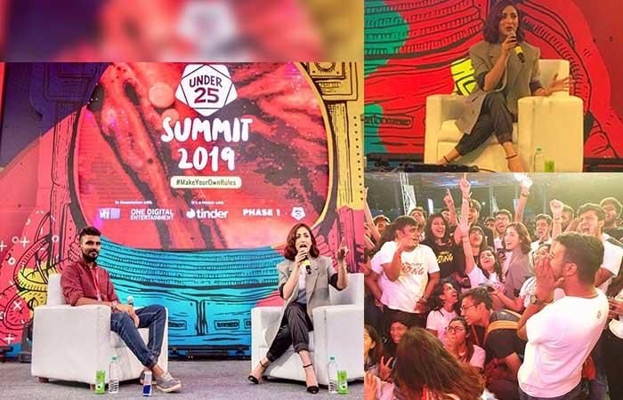 यामी गौतम ने अंडर 25 समिट में युवाओं को किया प्रेरित