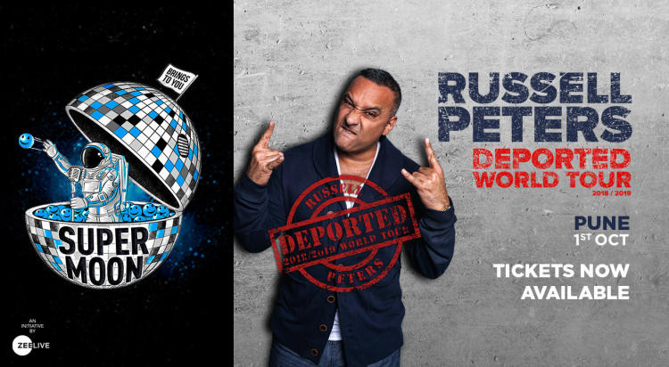 Supermoon Ft. Russell Peters Deported World Tour, Pune