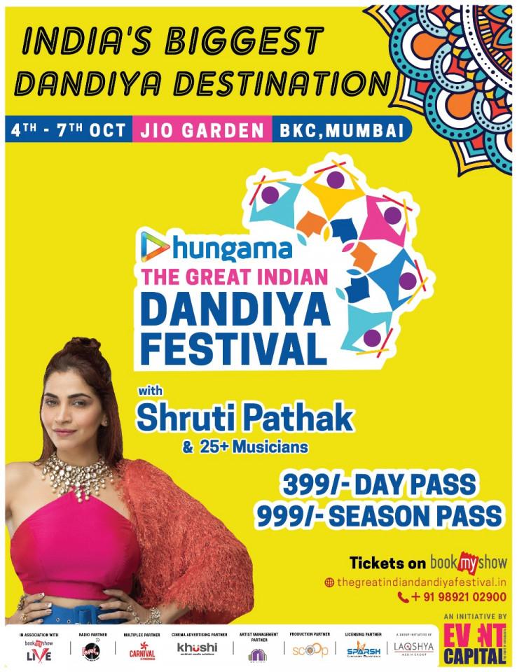 The Great Indian Dandiya Festival JIO Garden BKC Mumbai