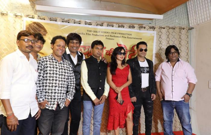 """निर्देशक निर्माता राम सजन मौर्या की फिल्म """"किसान की बेटी"""" का भव्य मुहूर्त"""