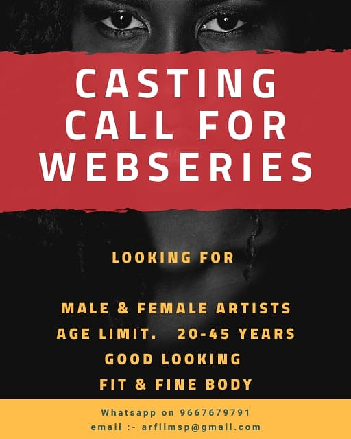 Casting Call for Webseries