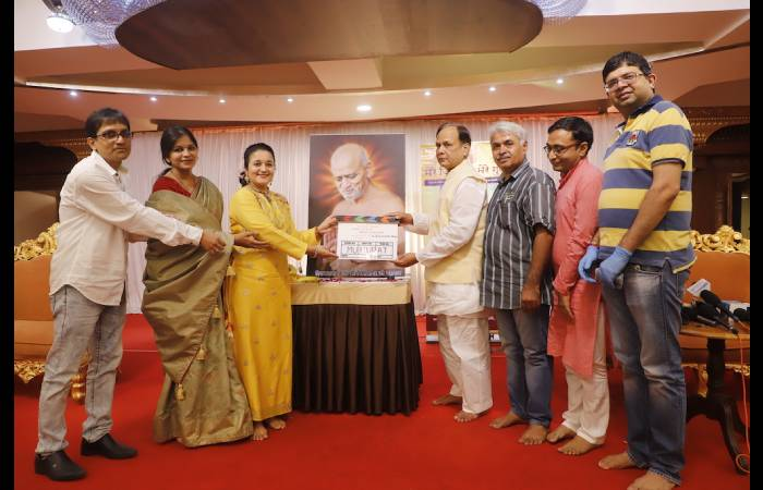 श्री विद्यासागर जी की बायोपिक फिल्म 'मेरे जिनवर मेरे गुरुवर'' का भव्य मुहूर्त