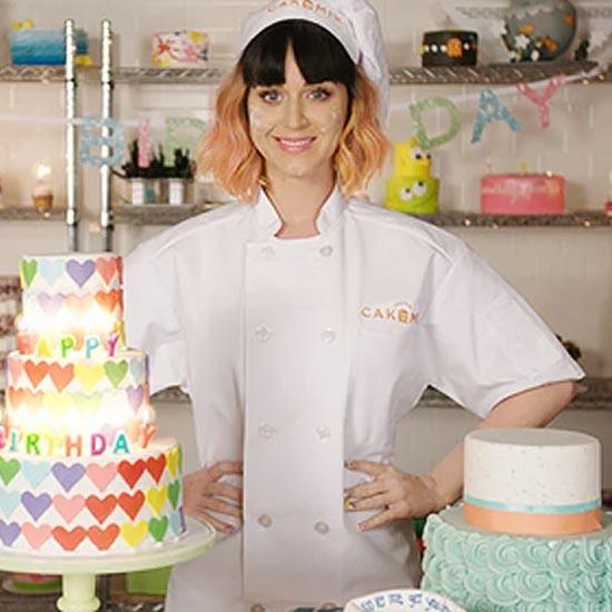 Katy Perry celebrating her birthday