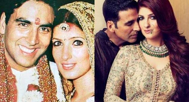Akshay and Twinkle Khanna