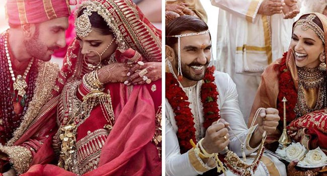 Ranveer and Deepika Singh