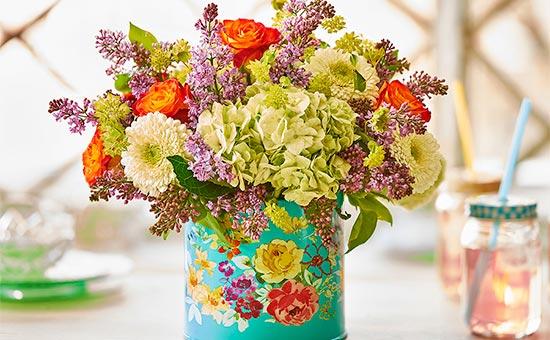 Floral Handmade Vase