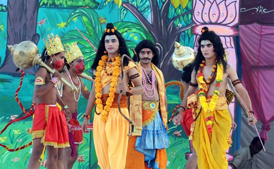 Narration of Ramayana in Himachal
