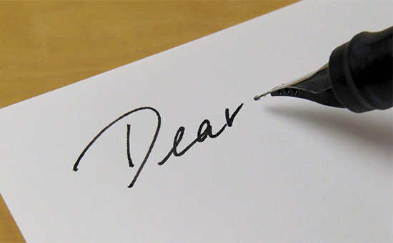 A Hand Written Letter To Win Her on Day of Promotion