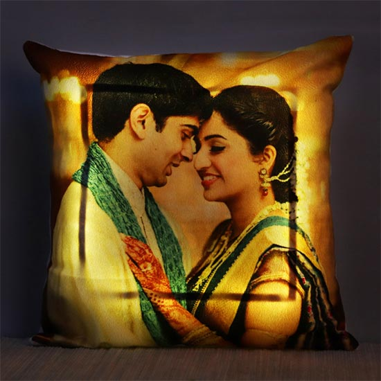 Led Photo Cushion