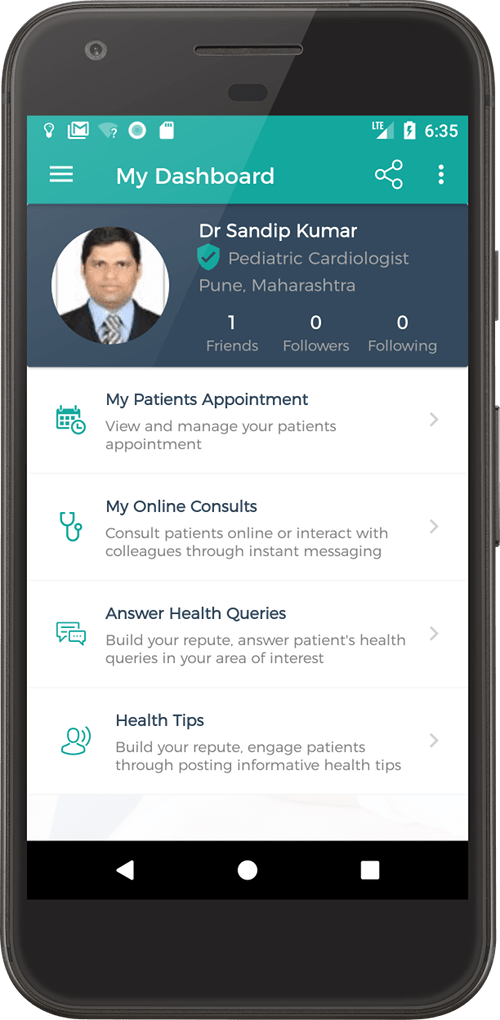 app to book doctor's appointment