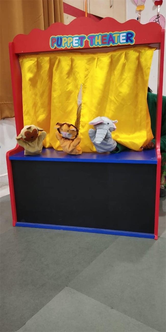 Puppet show for class PG