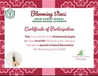 Inter-School Event - Blooming Vinci 2020 (Participation)