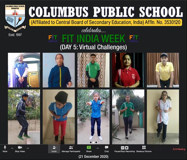 FIT INDIA SCHOOL WEEK