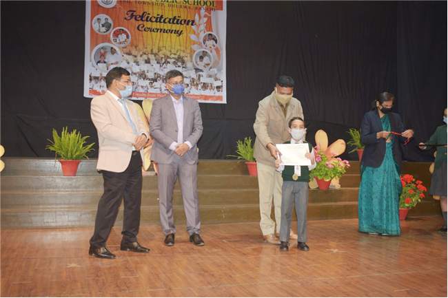 DELHI PUBLIC SCHOOL RANCHI ORGANISED A GRAND FELICITATION CEREMONY FOR THE HIGH ACHIEVERS