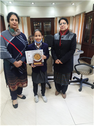 Gurbani competition held at Guru Nanak Public school