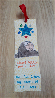 MARY WARD WEEK ACTIVITIES BY CLASS-KG