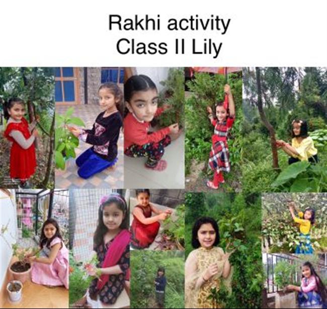 RAKHI MAKING ACTIVITY