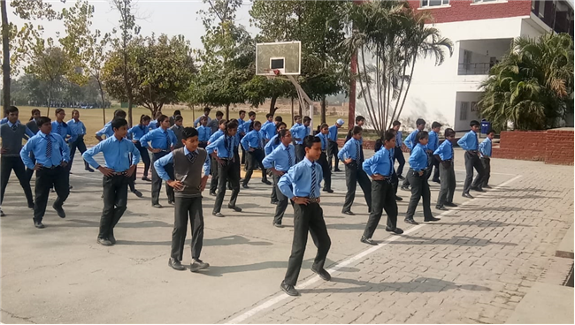 School Activities Under Fit India Movement (Fitness Week Celebration - Session 2019-20)