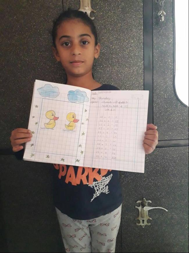 Creativity on notebook.