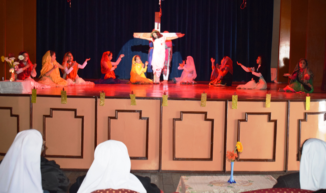 Special Assembly on Easter by Junior Students