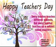 Teacher's Day Digital Card