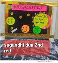 Teacher's Day - Craft Activity of Paper Origami (Classes II to V)