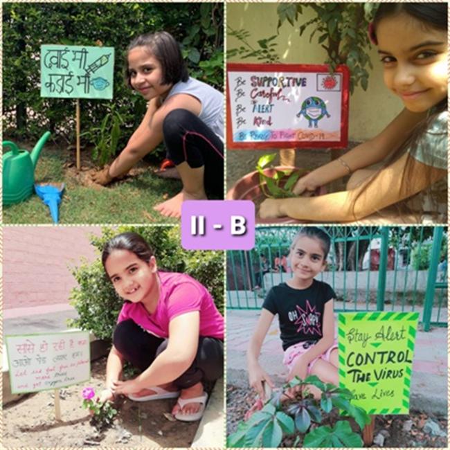Greening Motherland