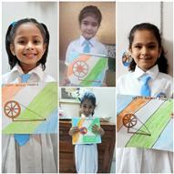 Colouring the Charkha: Gandhi Jayanti Activity