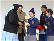 Prize Distribution of Toppers  Session 18-19