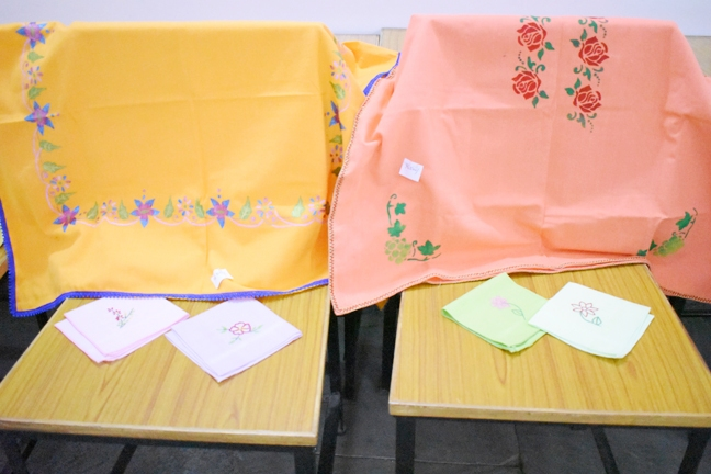 Sale of Table Clothes and Handkerchiefs by the Friends of Mary Ward