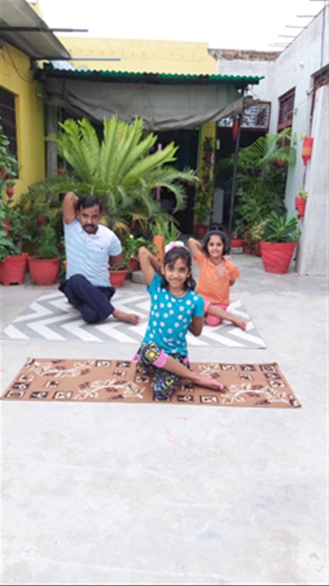 SMC Students celebrating International Yoga Day 2020