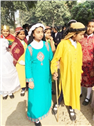 VISIT TO LEPERS COLONY BY CLASS 6