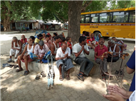 Visit to leper's colony class- 10