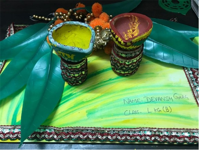 Diya Decoration Activity