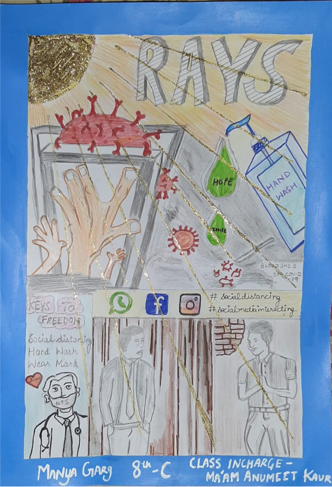 Paintings By class 8