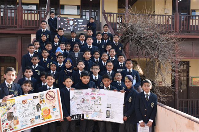 Special Assembly on New Year Resolutions