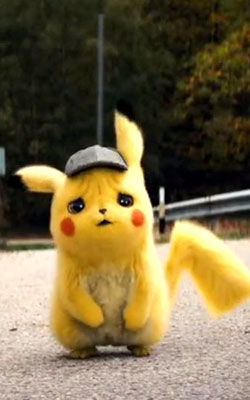 Pokemon Detective Pikachu (english) - cast, music, director, release date