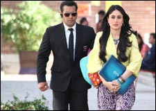 Bodyguard (hindi) - show timings, theatres list