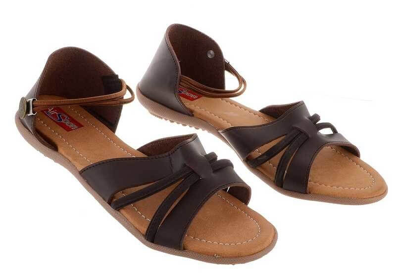 Synthetic Leather Tpr Women Sandal