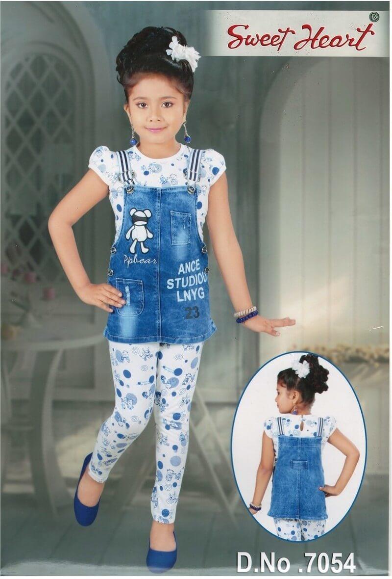 Denim Girls Dress