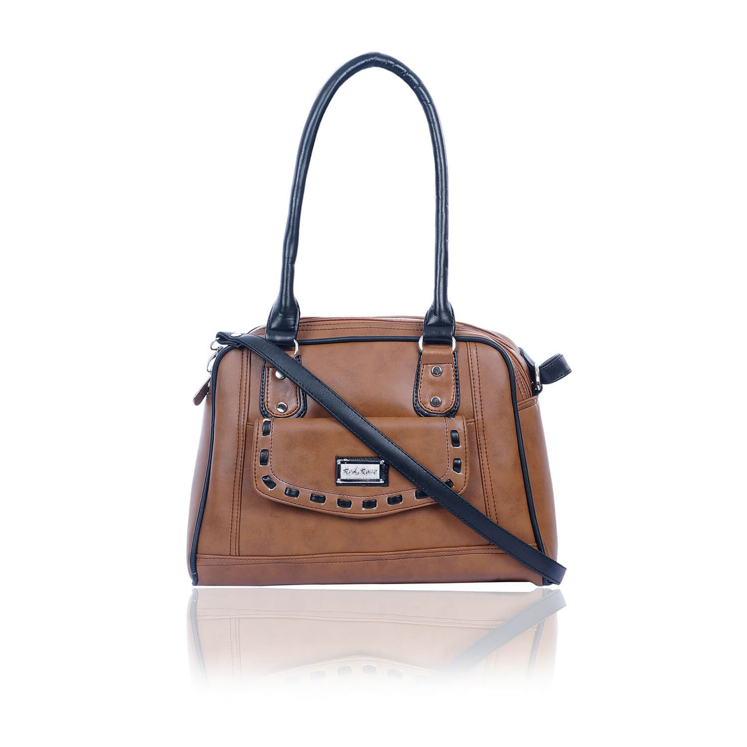 Right Choice RCH282 Brown ,dignified -graceful womens handbags