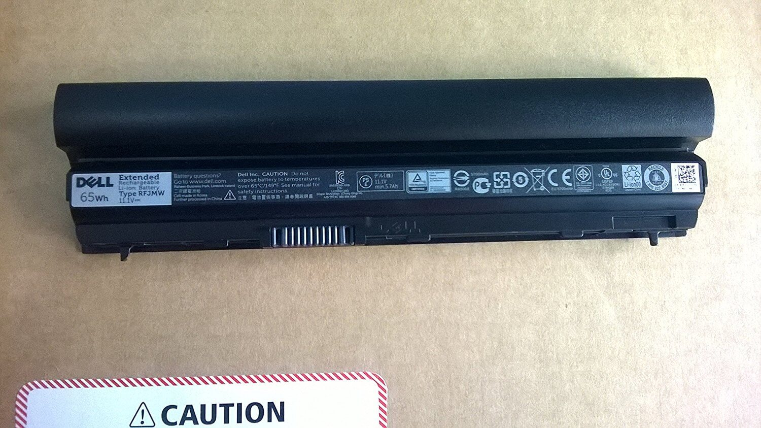 Dell Battery for Latitude E6320 Laptop 312-1239 WJ383 K4CP5.